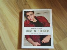 Justin Bieber Book 100% Official, Just Getting Started, used