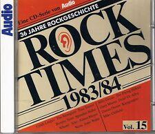 Audio Rock Times Vol. 15 1983-84 CD Various Audiophile
