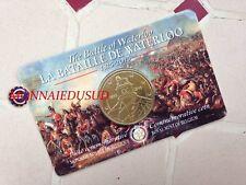 Coincard 2,50 Euro Belgique 2015 - Bataille Waterloo Version Française FR
