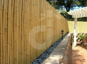Sichtschutz ATY Nature Bambus Gartenzaun Wind und Sichtschutzmatte Zaun (HxB)