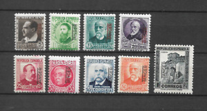 MAROC ESPAGNOL LOT 9 TIMBRES NEUF ** LUXE  TOP AFFAIRE !!!!!!!!!!!