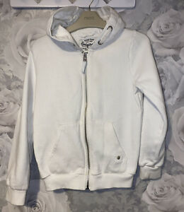 Girls Age 9-10 Years - M&S Hooded Zip Up Sweater