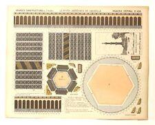 Imagerie D'Epinal No 428 Le Puits Artésien/Grandes Constructions toy paper model