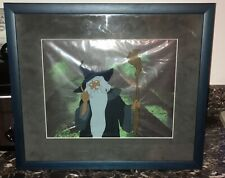 Lord of the Rings Original Ralph Bakshi Gandalf Animation Cel with Drawing