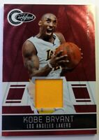 2010-11 Panini Totally Certified Totally Red Kobe Bryant Jersey #69, #'d /249