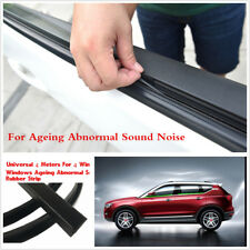 4M Rubber Sealed Strips Car Side Door windows Glass Ageing Abnormal Sound Noise