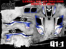 SCRUB DEKOR KIT ATV YAMAHA YFZ 450 2004-2014 GRAPHIC KIT Q1 B