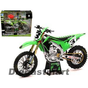 New Ray 1:12 Kawasaki KX450 #3 Eli Tomac Green Motorcycle 58113 Model Supercross