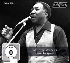 MUDDY WATERS New Sealed 2018 LIVE 1978 CONCERT 2 DVD & 2 CD BOXSET