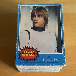 Topps STAR WARS Trading Cards 1977 Series 1 - Blue Border - Pick 5 from my list.