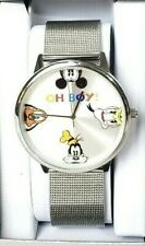 Disney Parks Collection Oh Boy Mickey Donald Pluto Goofy Unisex Watch