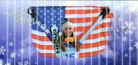 Lindsey Vonn Olympic Gold Super-G Downhill Skier Signed Autograph Holograp Photo