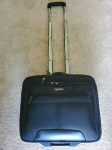 Samsonite Rolling Briefcase/Laptop Carry On Bag Tow Handle Wheels LNC