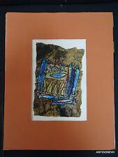 ANCRAGES OEUVRE ORIGINALE DE FRANCOISE BARRAUD ART. COTEE