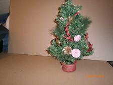 Weihnachtsdeko Weihnachten Weihnachtsmann beleuchtet Kerze Holz