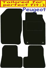 Peugeot 206Cc DELUXE QUALITY Tailored mats 2001 2002 2003 2004 2005 2006 2007