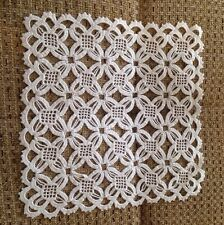 """*NEW Handmade Vintage Crochet Lace Doilies Placemat Table Runner 8.5""""x8.5"""""""
