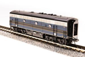 N-SCALE Broadway Limited 3521 EMD F7B, B&O 182X, Blue & Gray Scheme