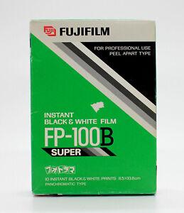 [New] Fujifilm FP-100B Instant Black & White Film (Expired 03/2002) from Japan