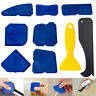 9pcs Silicone angle Scraper Caulking Glass shovel Shovel Cleaning Kit Tool Se*