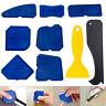 9pcs Silicone angle Scraper Caulking Glass shovel Shovel Cleaning Kit Tool SeDDE