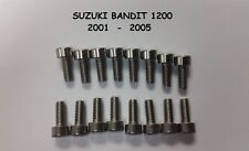 Suzuki Bandit 1200 (01-05) Stainless Carburetor Carb Float Bowl Screws