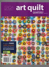 Saqa Art Quilt Quarterly Magazine #12, Art Quilts In France.