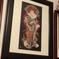 Takato Yamamoto Limited 200 Original print artwork with autograph from Japan F/S