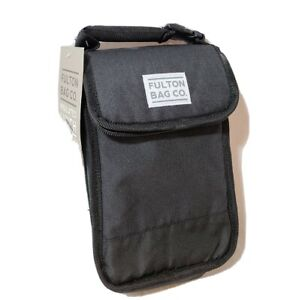 FULTON BAG CO. INSULATED LUNCH WITH DUAL CLOSURE
