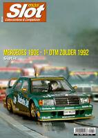 Magazine Mas Slot revista coleccionismo Diciembre 2019 nº 210 Mercedes 190E