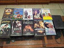 FANTASTICO LOTE DE 11 PELICULAS EN VHS