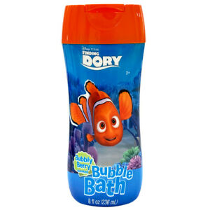 Finding Dory Bubble Bath 8oz Bubbly Berry Scent Non Toxic Parabens & BPA free