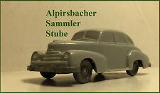 A.S.S WIKING UNVERGLAST OPEL KAPITÄN 1951 SILBERGRAU GK 100/2B CS 120/3K 1.W TOP