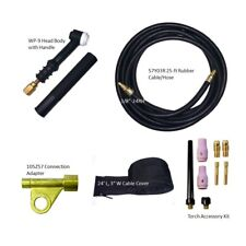 TIG Welding Torch Set 125A Air-Cool 25-ft WP-9-25R w/Gift | US Seller Fast