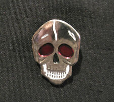SKULL SMALL VINTAGE LAPEL PIN BADGE BUTTON UK MADE