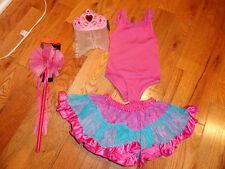 CHILDRENS PLACE GIRLS 4 PC DRESS UP BALLERINA PRINCESS COSTUME 2 3 5 6 STUNNING