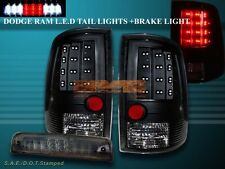 2010-15 DODGE RAM 1500/2500/3500 & 2009-15 1500 LED BRAKE LIGHT & TAIL LIGHTS