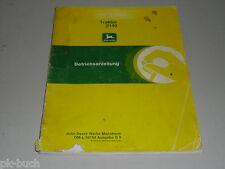 Betriebsanleitung Handbuch John Deere Traktor Trecker 2140