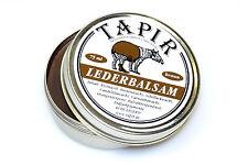 (100ml=10€) Tapir ~ Lederbalsam in Dose braun 85ml