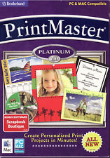 Printmaster 2 Platinum + Scrapbook Boutique