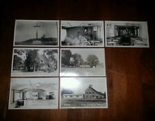Antique picture,post card of upton quebec, canada