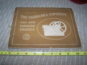 FAIRBANKS COMPANY CALLAHAN Bates Edmonds Hit Miss Engines Catalog Steam Magneto