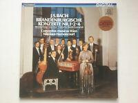 LP vinyl J.S. Bach Brandenburgische Konzerte Nr. 1, 2, 4  Nikolaus Harnoncourt