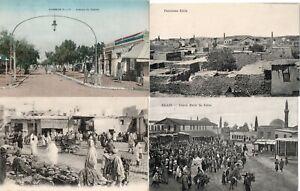 ALGERIE/TUNISIE LOT DE 12 CPA