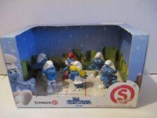 6 Schlümpfe The Smurfs in 3D Display OVP