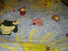 Pokemon Duvet & Euro Sham....100% Cotton
