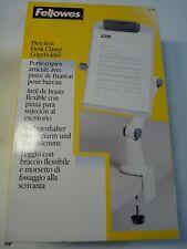 Fellowes (21130) Porte-copies articulé avec pince de fixation pour bureau - NEUF