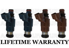 4X Genuine Flow Matched Fuel Injectors for Mazda Protege 626 1.8L 2.0L