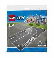 LEGO® CITY - 7281 Kurve / T-Kreuzung - NEU / OVP