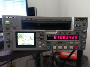 Sony DSR-45 Video Recorder Mini DV DVCAM Player w/Power cord 97x10 Hrs